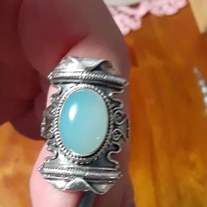 Jewelry - 925 sterling silver ring with a gemstone.